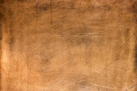 Textura de bronze, placa de metal como plano de fundo ou elemento de design