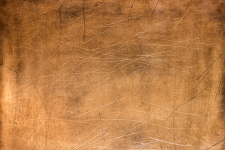 Bronze texture, metal plate as background or element for design