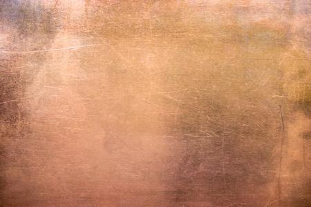 wzór miedzi lub brązu, tekstura metalu nieżelaznego