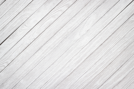 Rustic wood texture white, empty wooden table as background