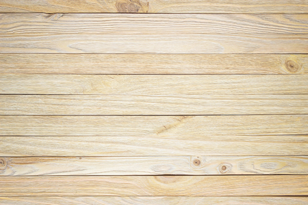 Boardwalk background. Texture of light wood table.