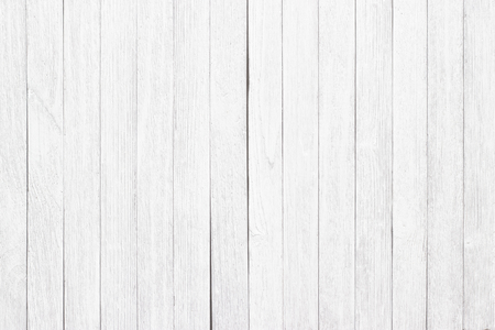 boards painted in white, the background light wooden surface Stockfoto