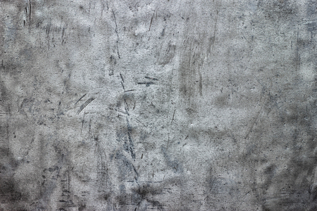 Grunge metal background, crumpled sheet texture of iron as a template for design