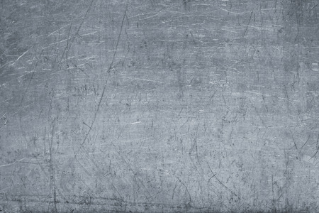 Texture of tinplate, silver metal as background