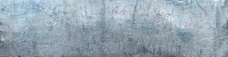 Grunge metal background, texture of stainless steel panoramic view for site header