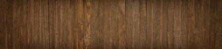 Brown board, wood texture close-up. Wooden background in rustic style Banco de Imagens