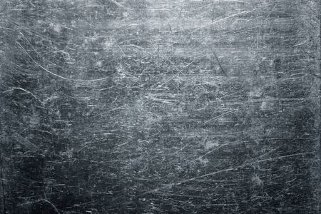 Twisted sheet of old metal texture, weathered steel plate background