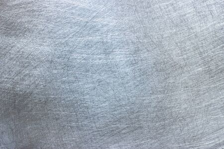 bright metallic texture, natural pattern on a surface of aluminum plate 免版税图像