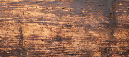 brown wood texture, panoramic board as background 版權商用圖片