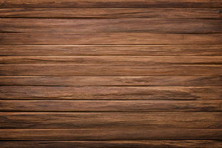 wooden table texture. brown planks as background Standard-Bild