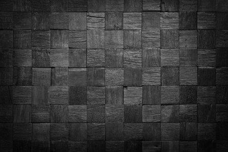 wooden surface interior wall. black wood texture 版權商用圖片