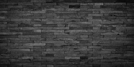 black wood background, dark wood mosaic wall panel