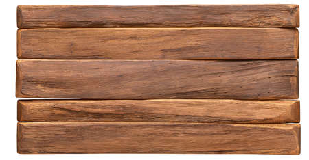 wood texture. vintage board surface isolated on white background