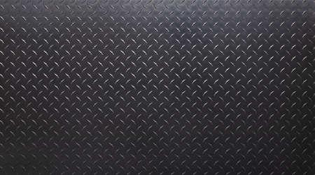 dark steel plate with diamond print. gray metal texture. 免版税图像