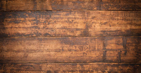 brown surface of the countertop boards. wood texture as background Standard-Bild