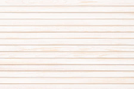 light wood texture with natural pattern. white wooden table as background Standard-Bild