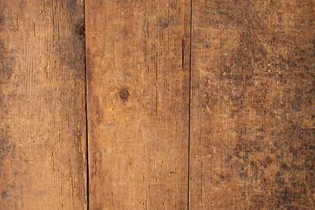 brown wood texture. old planks with natural wood texture