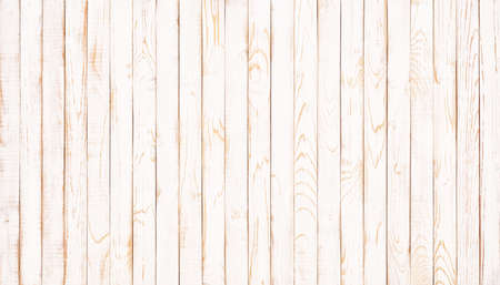white table top with natural wood texture. Standard-Bild