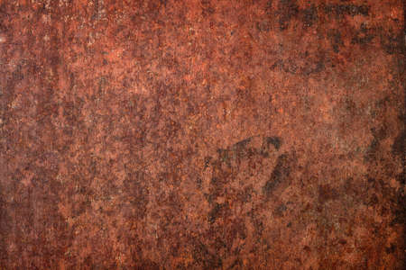 brown rust metal background. old iron surface