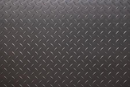 dark metal texture with diamond pattern, steel background Standard-Bild