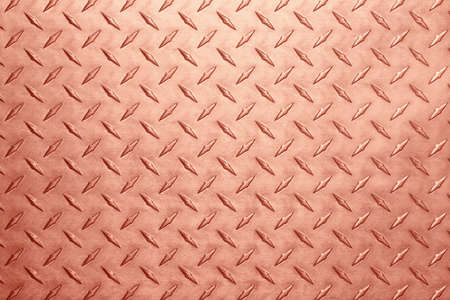 copper texture with diamond pattern, metal background.