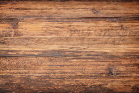 brown wood texture, old planks table background
