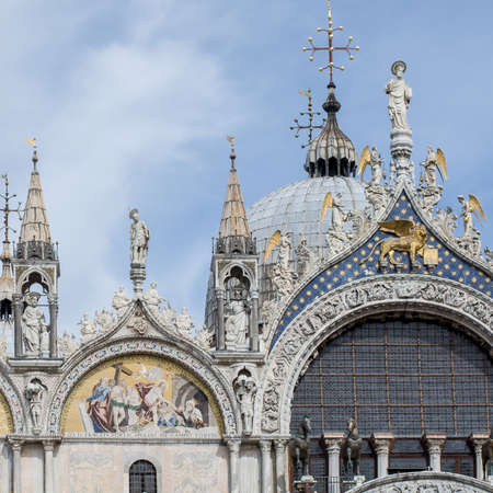 roman catholic: The Patriarchal Cathedral Basilica of Saint Mark is the cathedral church of the Roman Catholic Archdiocese of Venice