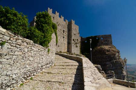venus: Medieval Castle of Venus in Erice, Sicily, Italy