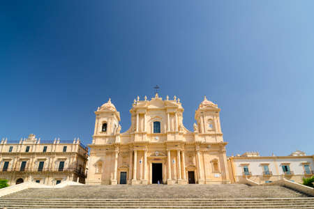 Noto Cathedral is a Roman Catholic church in Sicily, Italy. Editorial