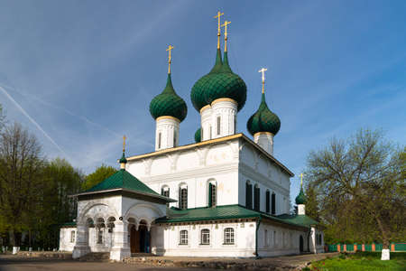 Fyodorovskaya Church is a russian orthodox church built in Yaroslavl between 1682 and 1687. Golden ring of Russia