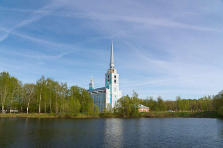 Church of the Holy apostles Peter and Paul in Yaroslavl, Russia. Golden ring of Russia.