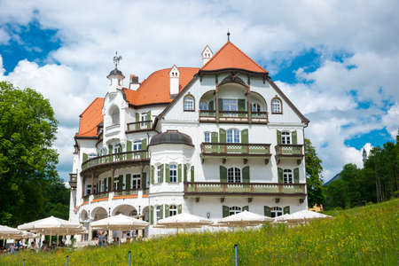 Munich, Germany - June 6. 2016: Museum of the Bavarian Kings, Fussen, Bavaria, Germany. It recounts the history of the Wittelsbach dynasty from its beginnings to the present day.
