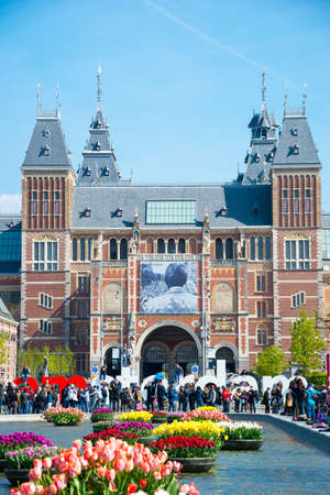 The Rijksmuseum Amsterdam museum, words IAMSTERDAM Editorial