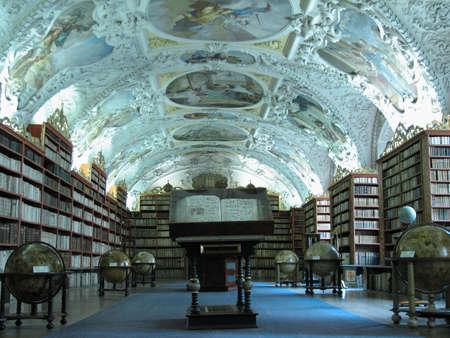 Library at Strahov monastery