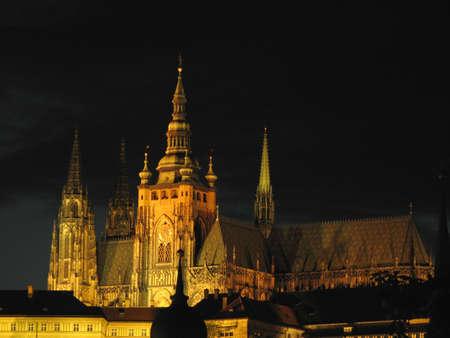 Saint Witt cathedral at Prague photo