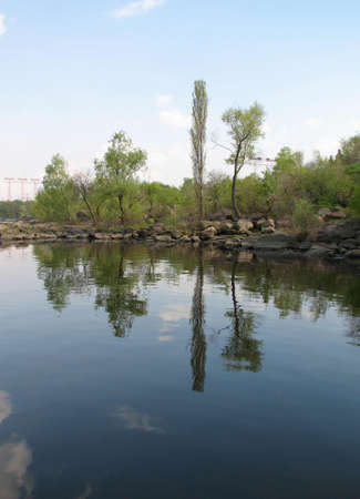 Silent Dneper river photo