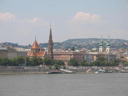 buda: C�t� Buda de Budapest