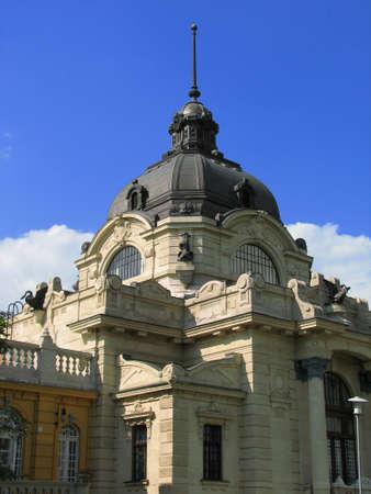 szechenyi: Dome of Szechenyi baths