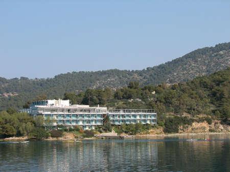 poros: Hotel at Poros island