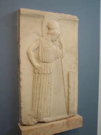 bas: Goddess Gera bas relief
