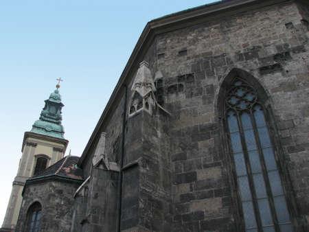 parish: Inner city parish church close-up