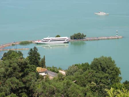 balaton: Ship at Balaton