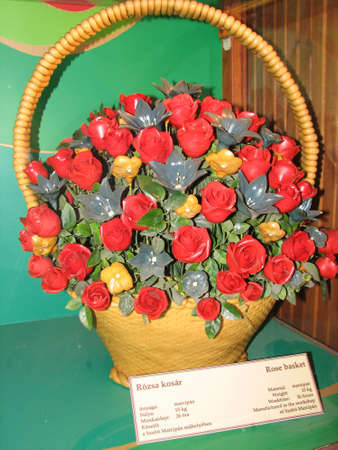 andrew: Marzipan bouquet in Saint Andrew Marzipan Museum