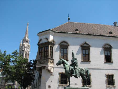 buda: Les rues de c�t� Buda de Budapest