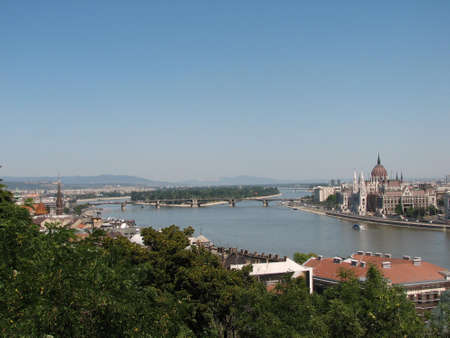 duna: Budapest and Duna view from King palace
