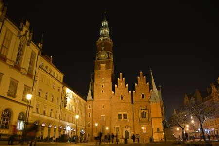 wroclaw: Wroclaw town hall