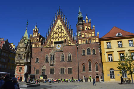 wroclaw: Wroclaw townhall