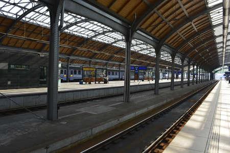 wroclaw: Wroclaw main railway station Editorial