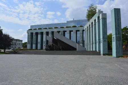 insurgency: Memorial dedicated to Warsaw uprisal