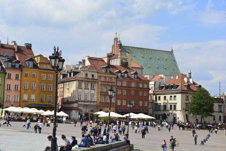central square: Piazza centrale della citt� di Varsavia
